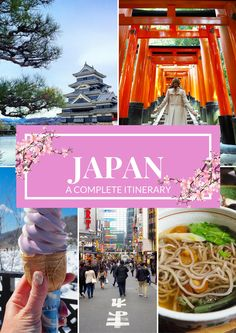 JAPAN - A Complete Itinerary; Good info on how much time needed in each place