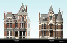 Brush park Detroit 1900 homes | ... right) Residences - Brush Park - Detroit, MI | Flickr - Photo Sharing