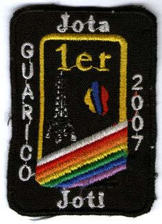 !er Jota Joti Guarico. 2007  ¿Información de esta insignia? Comenta!!