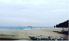 #beautifulview at #한섬해수욕장  Hansom beach in #donghae , #southkorea ☺☺
