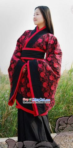 1e90f129aaa Traditional Ancient Chinese Hanfu Clothing for Women ( Han Dynasty )
