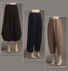 "V8499- skirt 2 3/4 yd. 45"", 2 1/8 "" 60"", stretch woven, double knits, silk dupioni  pants 2 1/2 yd. linen, stretch denim and silk jacquard"