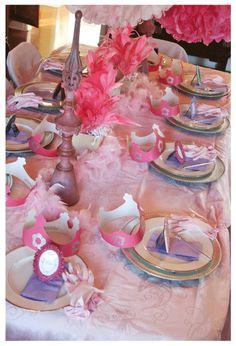 Fancy Nancy table