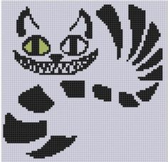 Cross Stitch Design Looking for your next project? You're going to love Cheshire Cat Cross Stitch Pattern by designer bracefacepatterns.