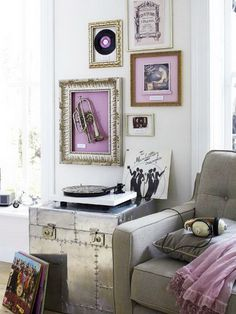 framed musical instruments