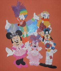 Disney Minnie and Friends Paper Piecing Scrapbooking