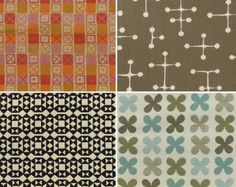 Charles and Ray Eames and Alexander Girard fabric - LOVE. Textiles, Textile Patterns, Textile Design, Color Patterns, Design Art, Print Design, Print Patterns, Graphic Design, Alexander Girard
