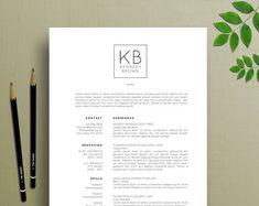 Modern Resume Template / CV Template Cover Letter for MS Template Cv, Modern Resume Template, Creative Resume Templates, Design Templates, Cover Letter For Resume, Cover Letter Template, Letter Templates, Microsoft Word, Business Brochure