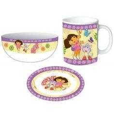 Set desayuno Dora la Exploradora!