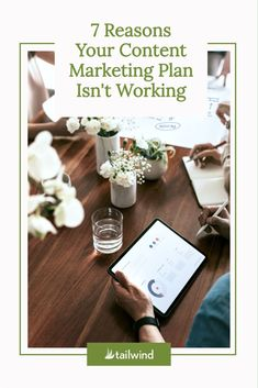 Wondering why your content marketing plan doesn't seem to be taking off? You may be making one of these 7 mistakes - take a look! What Is Content Marketing, Email Marketing Lists, Marketing Calendar, Marketing Budget, Marketing Plan, Marketing Strategies, Social Media Images, Social Media Tips, Stencil App