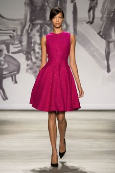Lela Rose at New York Fashion Week Spring 2015 - StyleBistro
