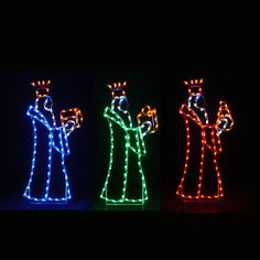 Nativity LED Light Display - 6 ft Three Kings Item #71850  Our Price: $1,599.00