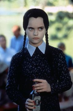 wednesday addams drinking poison - Google Search