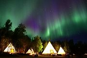 Aurora Village, Yellowknife, Canada - best place to see Aurora Borealis