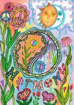 The highest education is that which does not merely give us information but makes our life in harmony with all existence. ~ Rabindranath Tagore  ~ Art by Dawn Collins