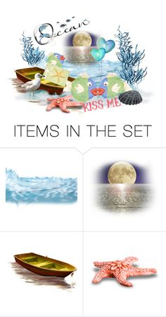 """""""Ocean Spoonrest Secrets :-)"""" by sabine-713 ❤ liked on Polyvore featuring art"""