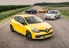 Evolution of the Renault Clio