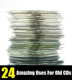24 Amazing Uses For Old CDs
