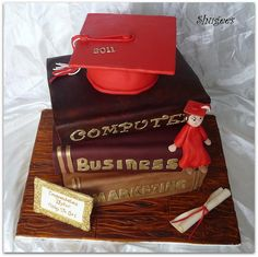 Anyone know where I can find someone to make a cake like this for my son Kevin's college graduation?
