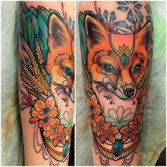 katie shocrylas tattoo - Jewel fox