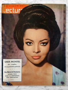 REVISTA LECTURAS - Nº 577 - 1963 - SARA MONTIEL, RICHARD BEYMER, JOSÉ ISBERT - Foto 1