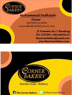 The Corner Bakery's Namecard