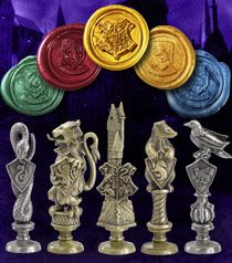 Hogworts House Wax Seal set