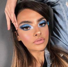schöne Make Up Ideen beautiful makeup ideas Glam Makeup, Skin Makeup, Makeup Inspo, Eyeshadow Makeup, Makeup Inspiration, Beauty Makeup, Makeup Ideas, Clown Makeup, Makeup Tutorials