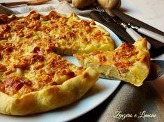 Crostata con patate e speck, ricetta golosa