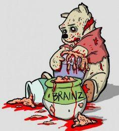 Zombie pooh