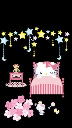 Hello Kitty Pictures, Kitty Images, Sanrio Wallpaper, Hello Kitty Wallpaper, Good Morning Good Night, Sanrio Characters, 90s Kids, Precious Moments, Diana