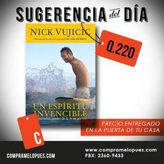 "Nick Vujicic ""Un espíritu invencible"""