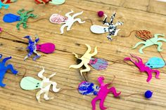 Octopus Garland -paper of nepal- - 【BOX&NEEDLE on-line boutique】京都の職人による貼箱店・ウェディング・ギフトボックス・インテリア・収納