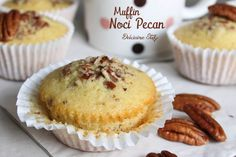 Muffin alle Noci Pecan