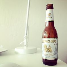 Singha Beer, remebers me to asia