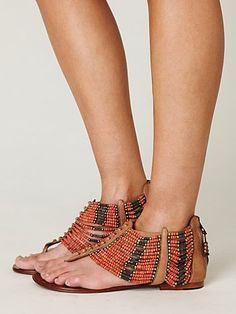 Perfect sandal to inspire a warm winter getaway!