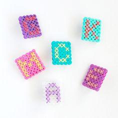 Perler Bead Monogram DIY