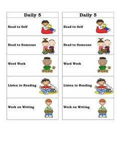 Daily 5 Bookmarks! Why not try to manage your Daily 5 Reading groups using a different format in the year 2014?! Check out these bookmarks that automatically create your guided reading groups as well!