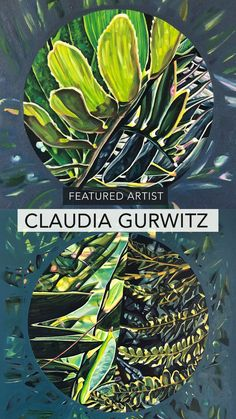 Detailed macro paintings of plants by South African artist Claudia Gurwitz African Plants, South African Artists, Plant Painting, Plant Leaves, Paintings, Paint, Painting Art, Plant Drawing, Painting