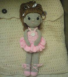 . #amigurumi #doll