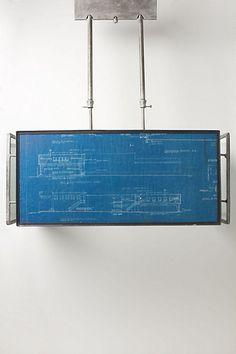 Blueprint Light Fixture