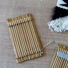 Fabriquer un mini métier à tisser