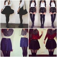 Winter skirts