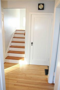 A Rental House Makeover on a very limited budget. Minimalist Interior, Minimalist Home, Small Toilet Room, House Design Pictures, Stair Makeover, Home Budget, Happy House, Interior Stairs, House Stairs