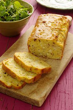 Cinco Quartos de Laranja: Bolo salgado de pêra com queijo