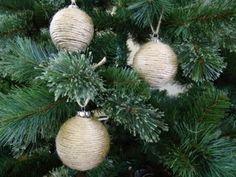 DIY Home Decor DIY Jute Ornament Balls Ornament 20
