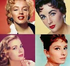 Monroe, Taylor, Kelly, Hepburn