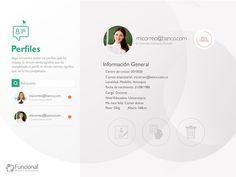 User profile Ui Portfolio Web Design, User Profile
