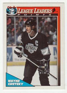 Wayne Gretzky # 257 - 1991-92 O-Pee-Chee Hockey Hockey Cards, Baseball Cards, Ice Hockey Players, Wayne Gretzky, Collector Cards, National Hockey League, Nhl, Mint, Sports