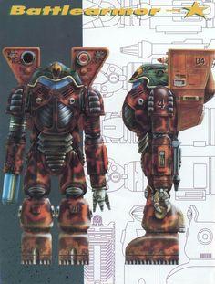 Battletech elemental battle armor